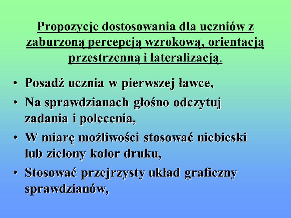Symptomy zaburzeń funkcji wzrokowych i orientacji przestrzennej c.d. Trudności w nauce geometrii – trudności z odwzorowaniem kształtów geometrycznych,