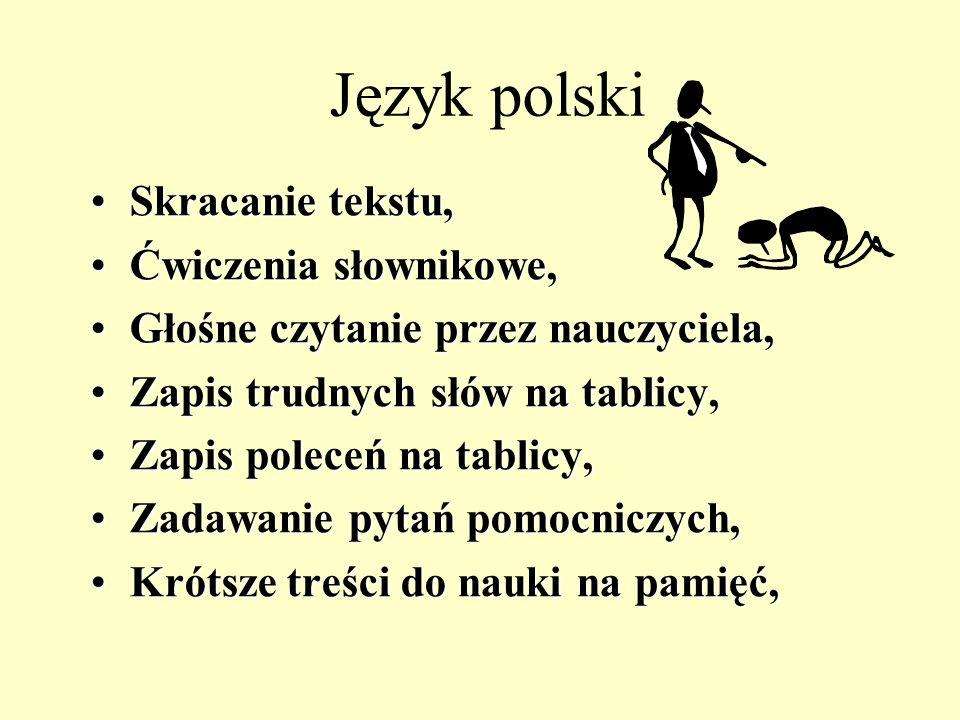 Język polski Oceniać umiejętności odnajdywania informacji w tekście, Ocenianie postępów, a nie stanu faktycznego, Nieodpytywanie na forum klasy, Czyta