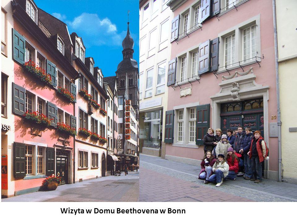Wizyta w Domu Beethovena w Bonn