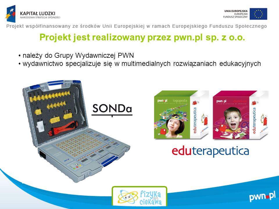 Projekt jest realizowany przez pwn.pl sp.z o.o.