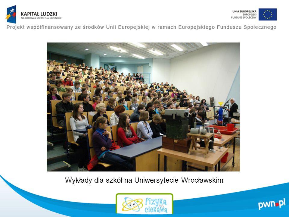 Wykłady dla szkół na Uniwersytecie Wrocławskim
