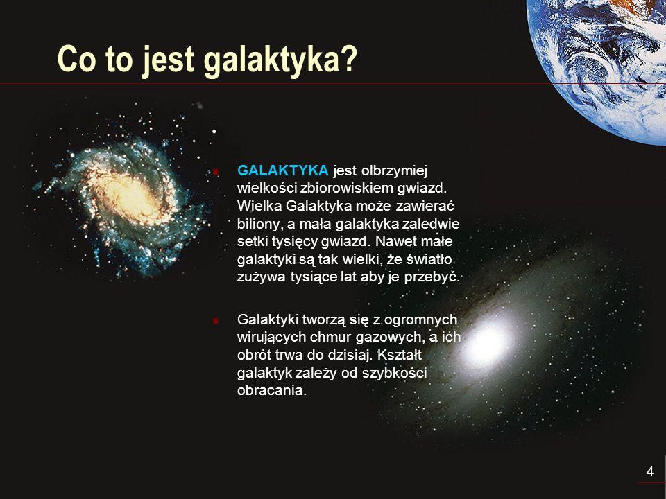 5 Droga Mleczna DROGA MLECZNA jest widzianym z Ziemi obrazem naszej Galaktyki.