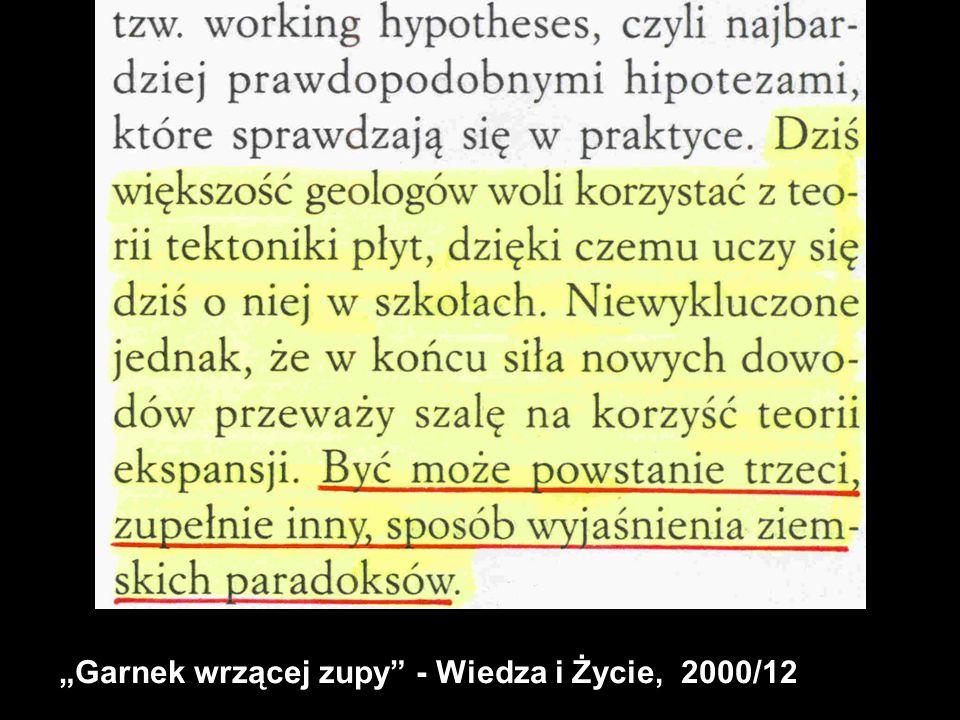 Garnek wrzącej zupy - Wiedza i Życie, 2000/12