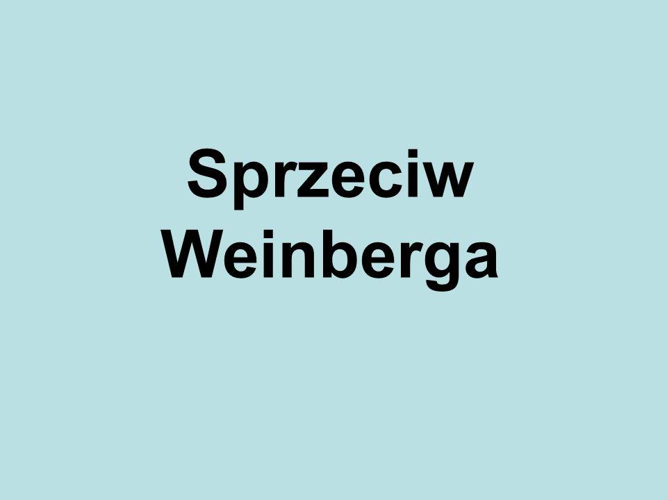 Sprzeciw Weinberga