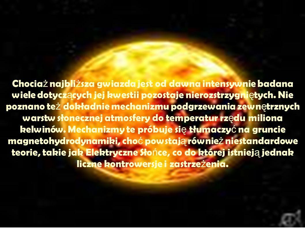 a Przypuszcza si ę, ż e Sło ń ce powstało około 4,6 miliarda lat temu.