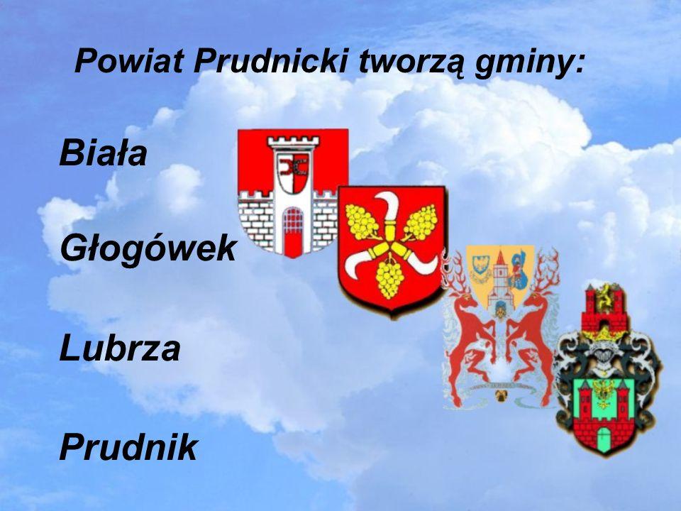 Powiat Prudnicki tworzą gminy: Biała Głogówek Lubrza Prudnik