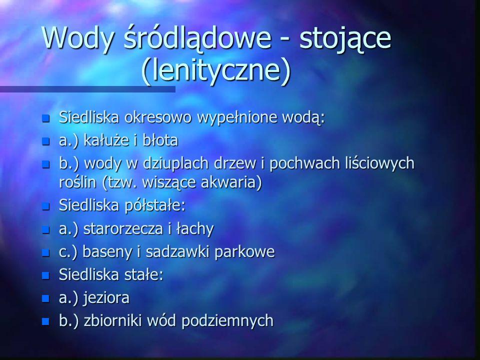 Normalny roczny opad w Polsce Miara zasobów wodnych kraju – ilość wody/mieszkańca/rok: Polska – 1 700 m 3 Francja – 3 000 Niemcy - 2 500 Rosja - 7 000 Przyczyna niskich zasobów w Polsce: położenie pomiędzy klimatem morskim (Atlantyk) a kontynentalnym (Azja).