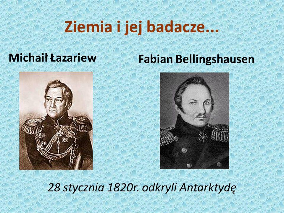 Fabian Bellingshausen Michaił Łazariew 28 stycznia 1820r.