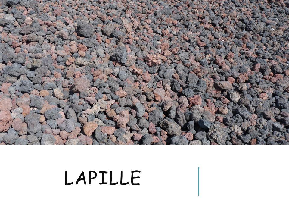 LAPILLE