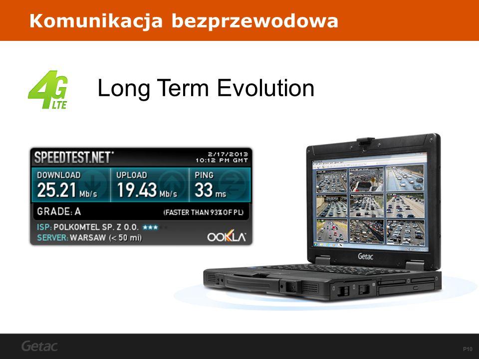 P10 Komunikacja bezprzewodowa Long Term Evolution