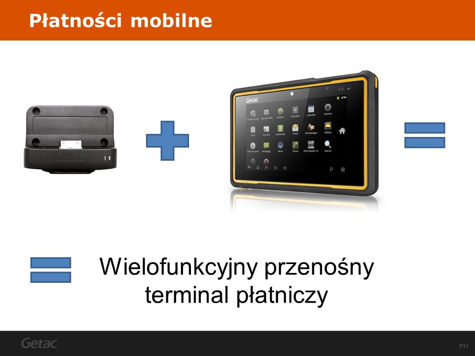 P11 Płatności mobilne Wielofunkcyjny przenośny terminal płatniczy