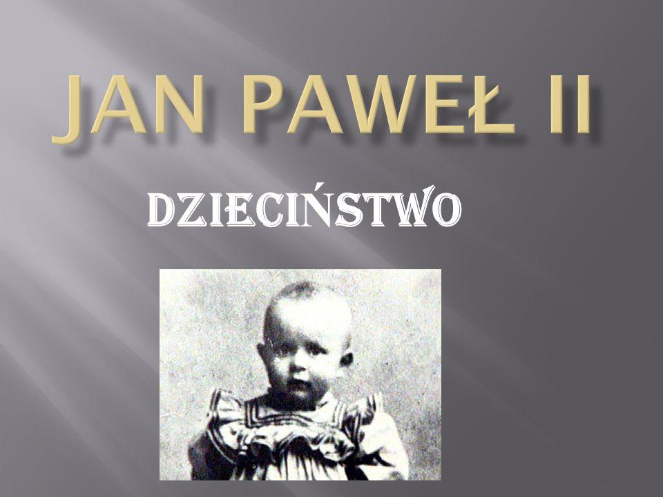 Karol Wojtyła urodził się 18 maja 1920r. w Wadowicach.