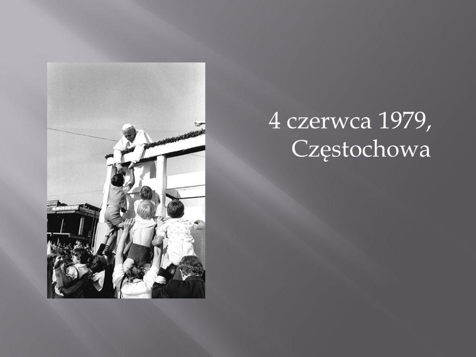 4 czerwca 1979, Częstochowa