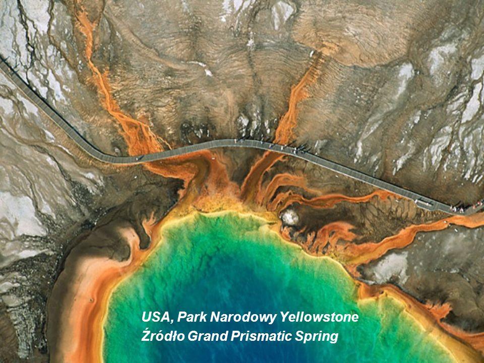 USA, Park Narodowy Yellowstone Źródło Grand Prismatic Spring