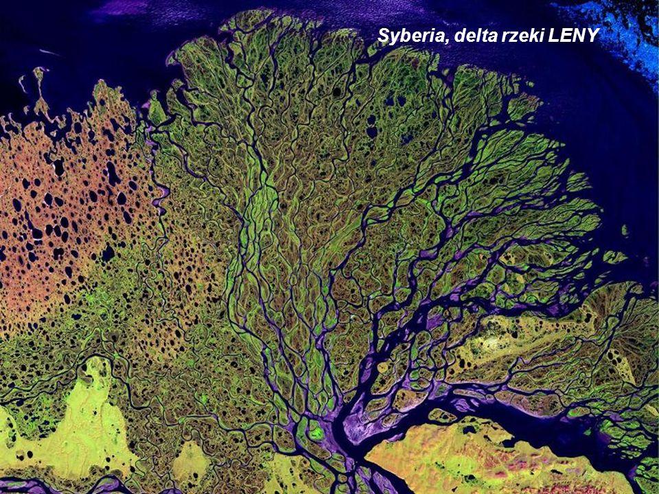 Afryka, Mauretania, struktura Richat nazywana Okiem Afryki.