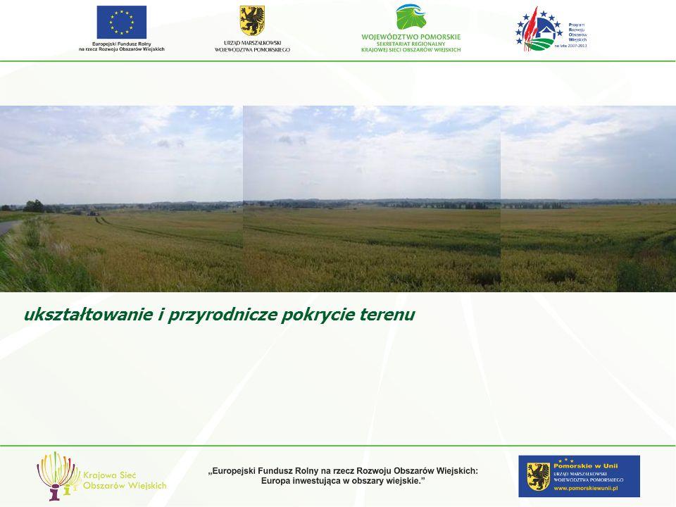 zalecenia projektowe kontynuowanie lokalnych cech krajobrazu