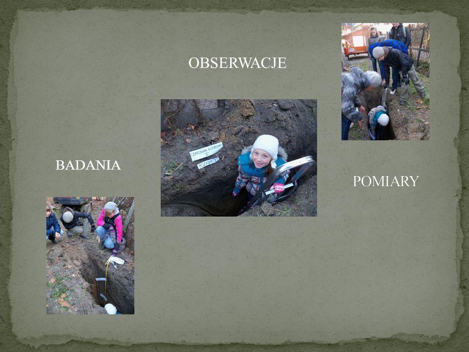 Pobieranie próbek gleby do badań