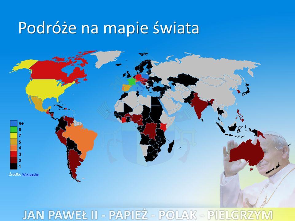 Źródło: WikipediaWikipedia Podróże na mapie świata