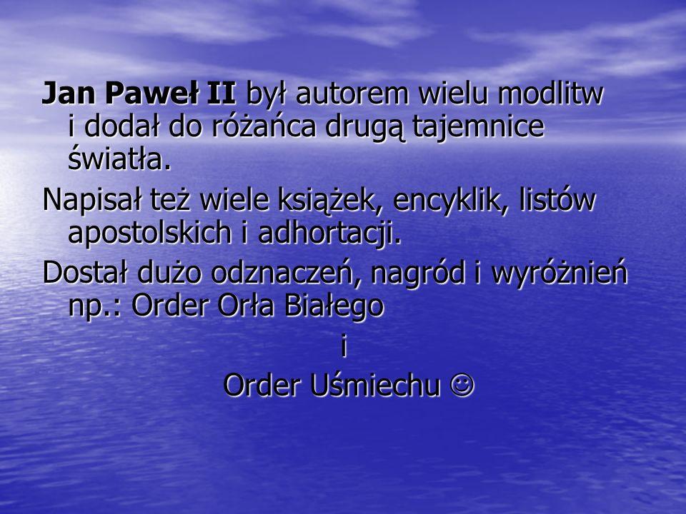 Jan Paweł II zasiadał na Stolicy Piotrowej przez 26 lat.