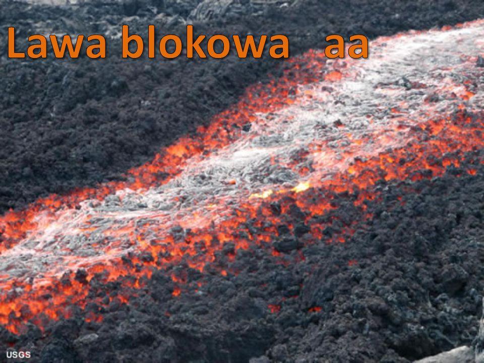 -z podwodnej erupcji -szybko stygnie -dzieli się elipsoidalnie