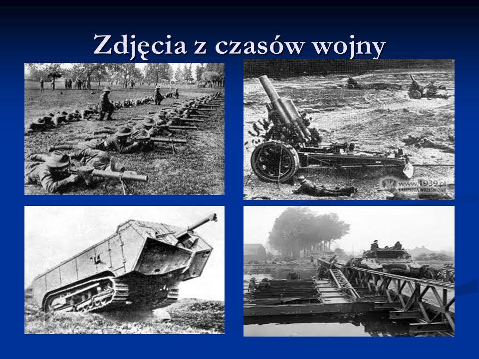 Zdjęcia z czasów wojny