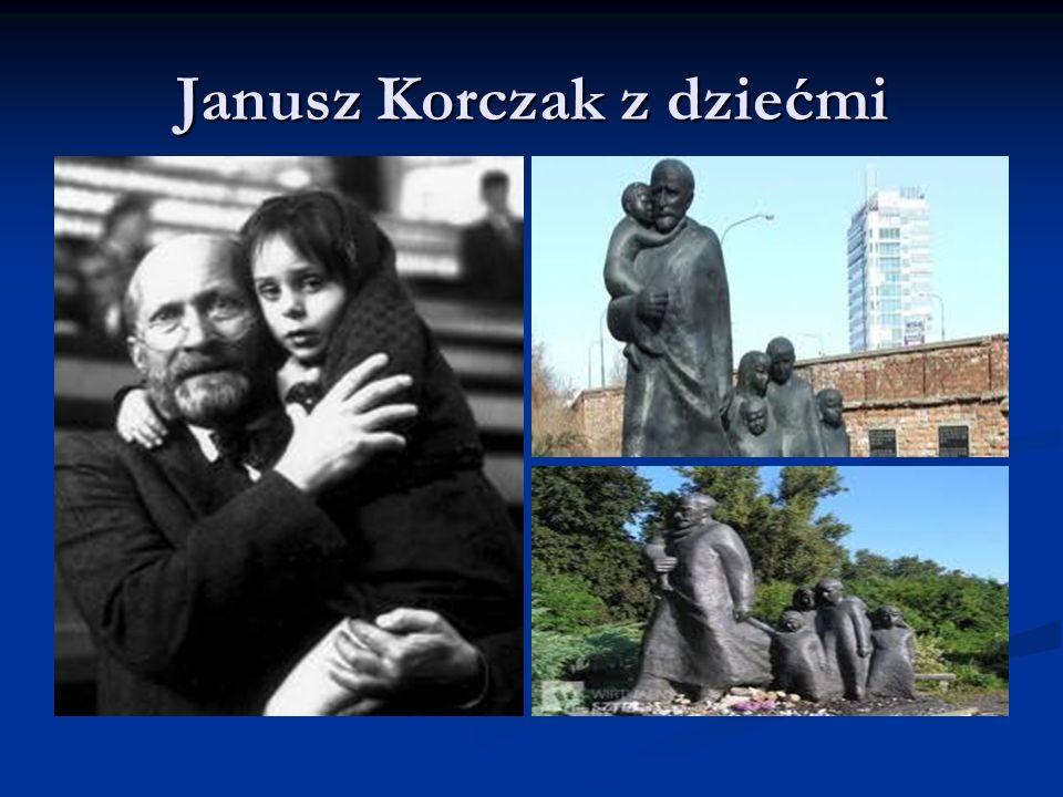 Służba i braterstwo Janusz Korczak całe swoje życie, aż po tragiczny koniec, wierny był idei służenia dziecku i jego sprawie.