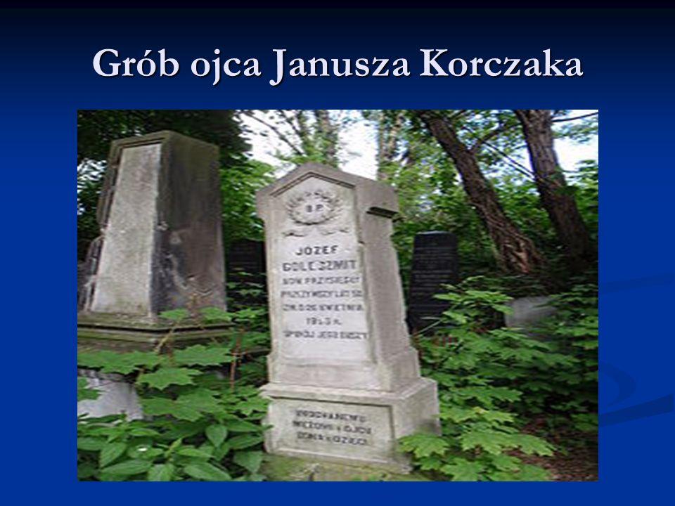 Grób ojca Janusza Korczaka