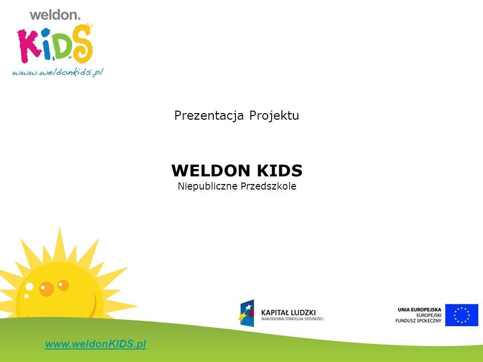 www.weldonKIDS.pl Prezentacja Projektu WELDON KIDS Niepubliczne Przedszkole