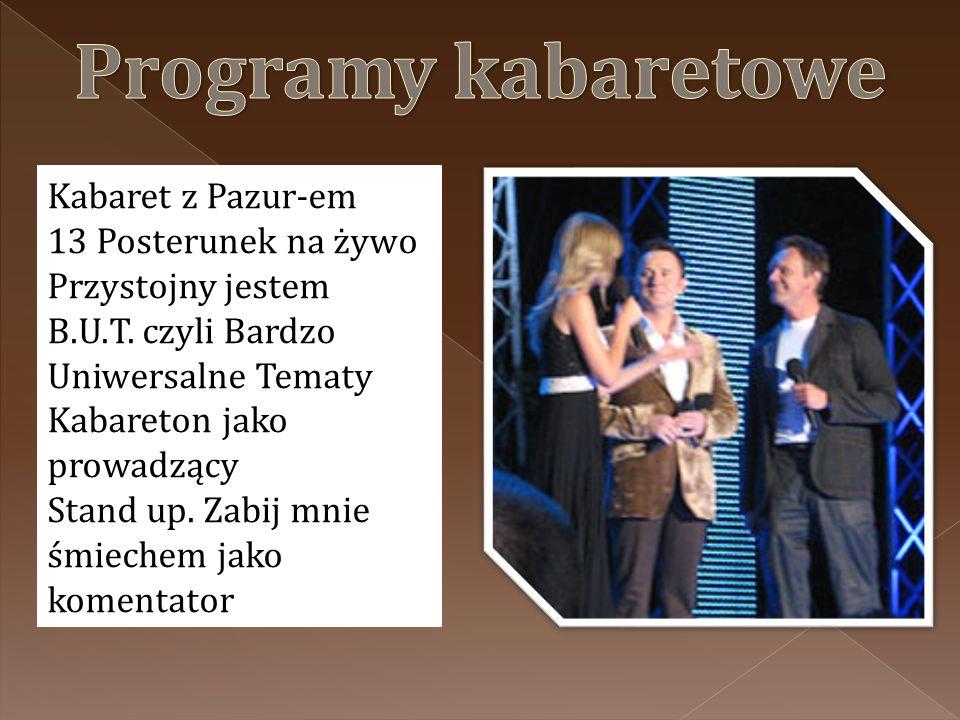 Kabaret z Pazur-em 13 Posterunek na żywo Przystojny jestem B.U.T.
