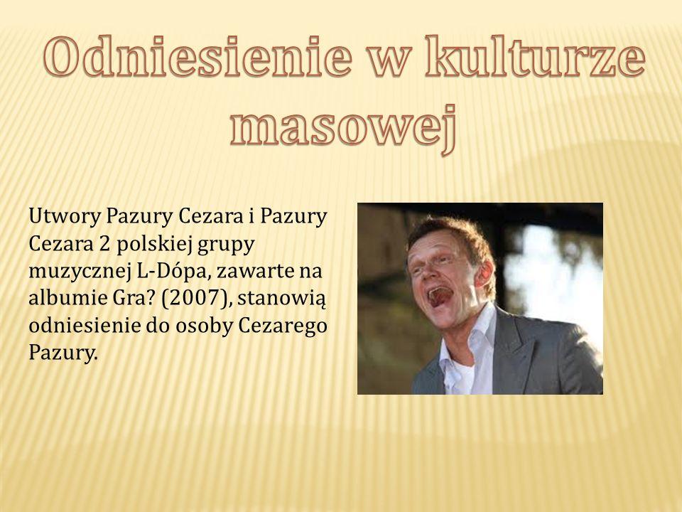 Utwory Pazury Cezara i Pazury Cezara 2 polskiej grupy muzycznej L-Dópa, zawarte na albumie Gra.