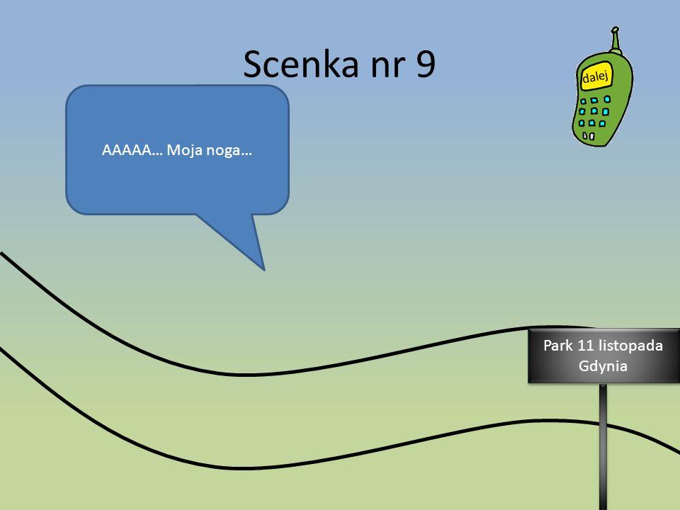 AAAAA… Moja noga… Park 11 listopada Gdynia Park 11 listopada Gdynia