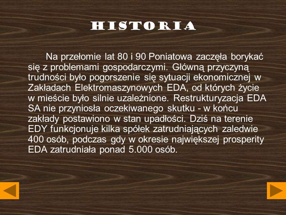 HISTORIA Obecnie Gmina przywiązuje także dużo wagi do poprawy infrastruktury technicznej i ekologii.