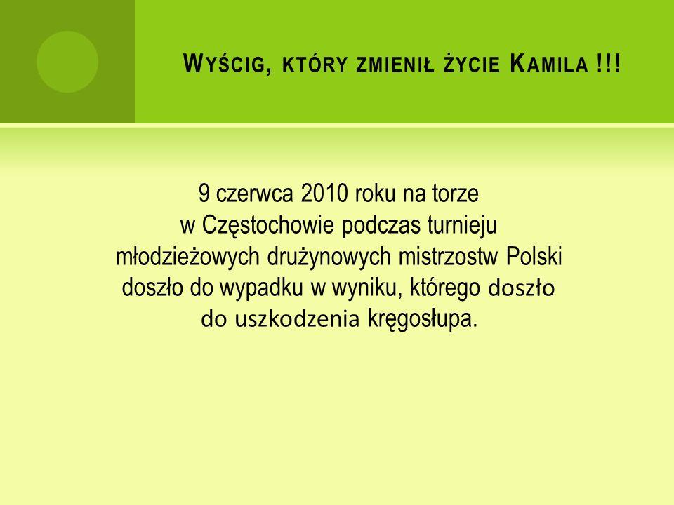 W YŚCIG, KTÓRY ZMIENIŁ ŻYCIE K AMILA !!.