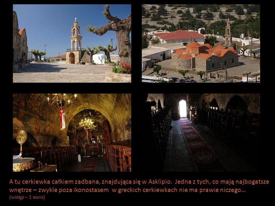 A tu cerkiewka całkiem zadbana, znajdująca się w Asklipio.