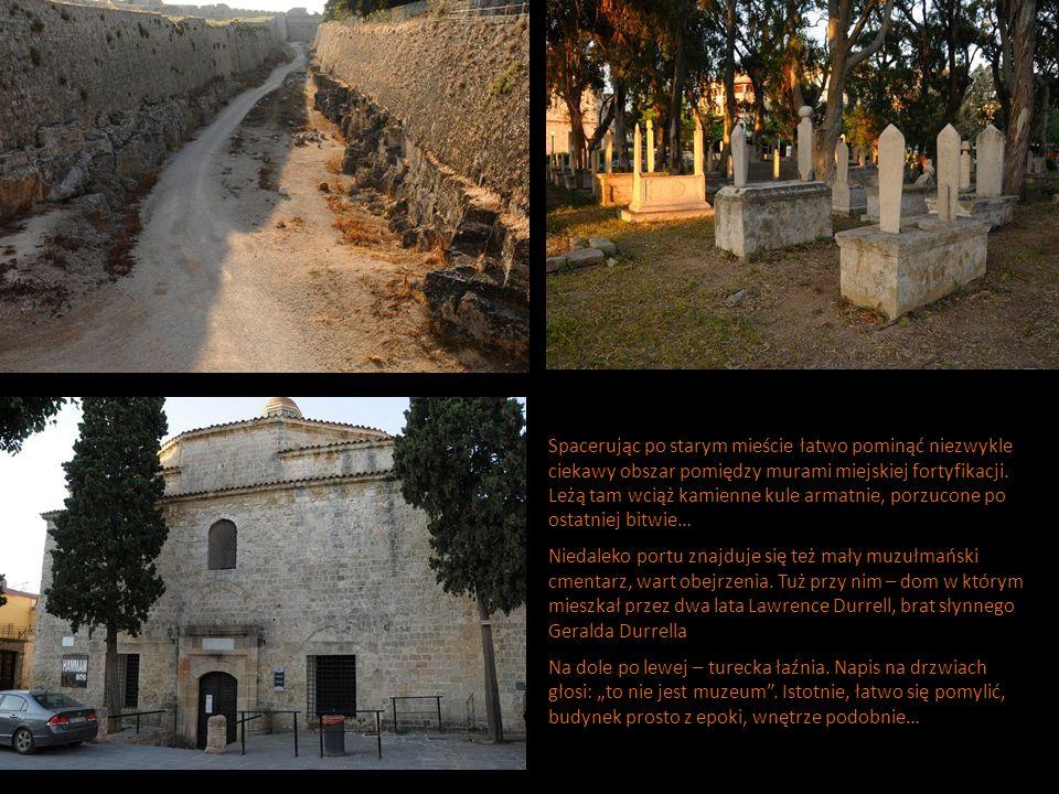 Spacerując po starym mieście łatwo pominąć niezwykle ciekawy obszar pomiędzy murami miejskiej fortyfikacji.