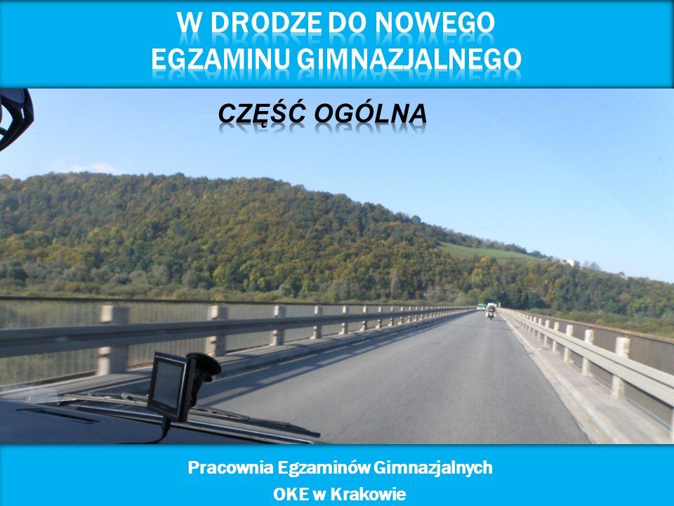 1 Pracownia Egzaminów Gimnazjalnych OKE w Krakowie