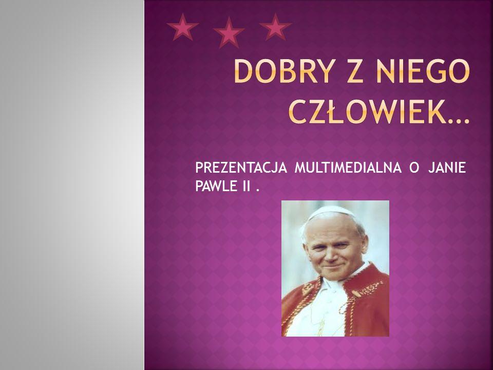 Karol Józef Wojtyła przyszedł na świat 18.maja 1920 r.