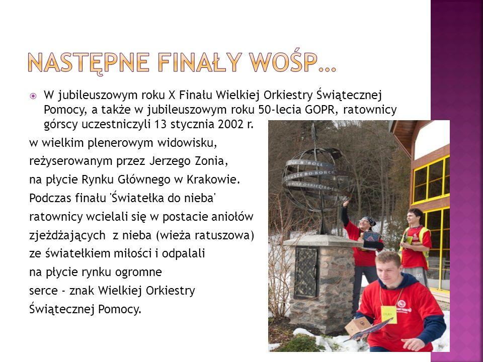XIX Finał Wielkiej Orkiestry Świątecznej Pomocy zagrał 9 stycznia 2011 r.
