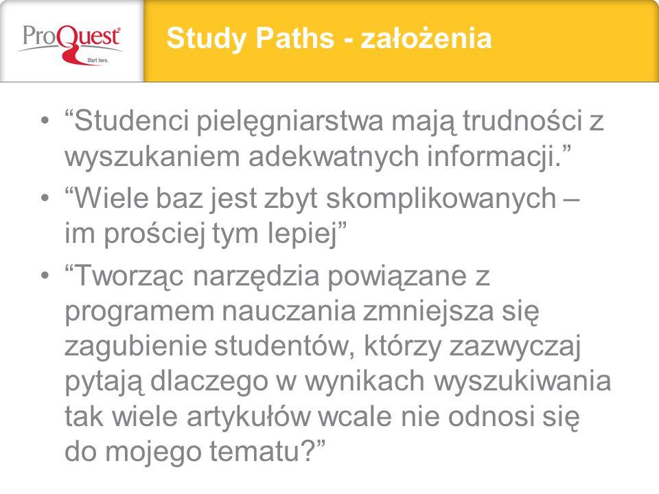 Study Paths - założenia Headline, subhead, or important text can go here.