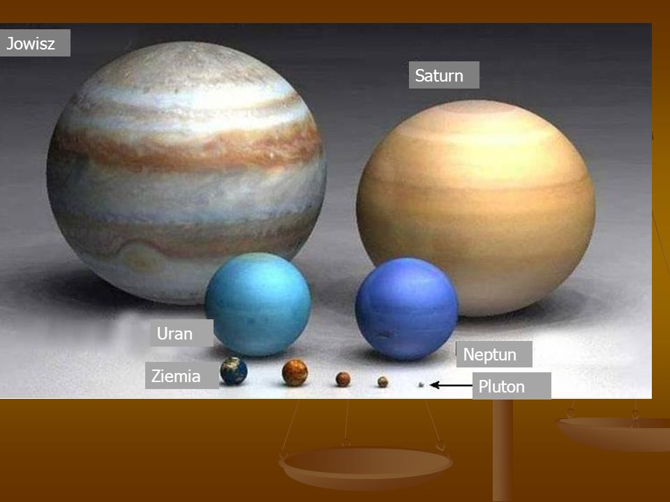 ept Jowisz Saturn Uran Ziemia Neptun Pluton