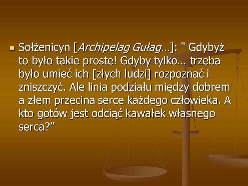 Sołżenicyn [Archipelag Gułag…]:
