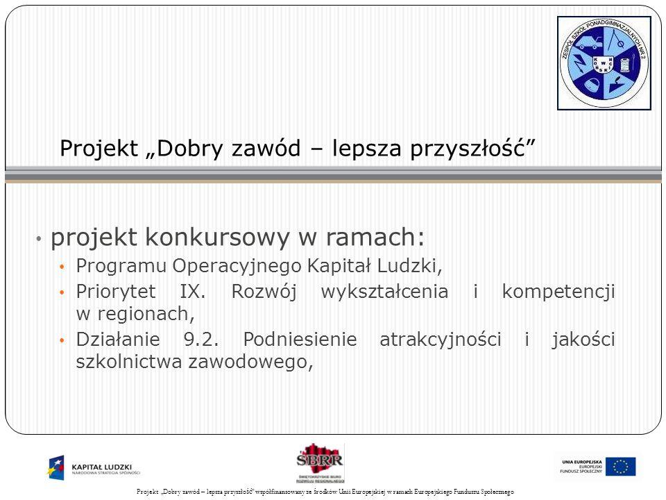 Projekt Świadomy obywatel współfinansowany ze środków Unii Europejskiej w ramach Europejskiego Funduszu Społecznego 33 Zarządzanie projektem: Pracownik rekrutacji, promocji i monitoringu będzie: wspierał kierownika projektu, zajmował się promocją, rekrutacją, współpracą z mediami, a także monitorował przebieg realizacji projektu poprzez systematyczne zbieranie i analizowanie ilościowe i jakościowe informacji o projekcie oraz sprawozdawczość.