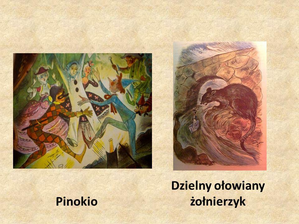 Pinokio Dzielny ołowiany żołnierzyk