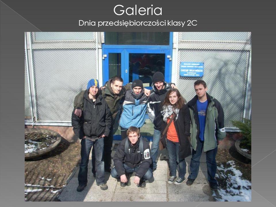 Galeria Dnia przedsiębiorczości klasy 2C