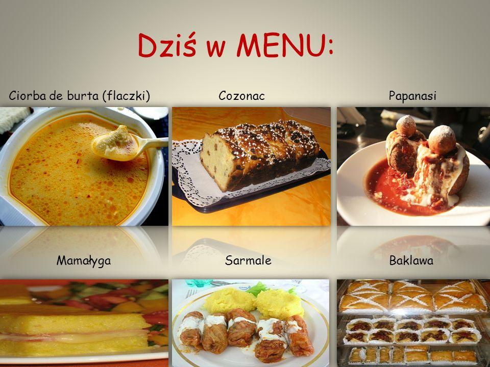 Zapraszamy do stołu!!! Czyli poznajemy tajniki Rumuńskiej kuchni… Kuchnia rumuńska – zróżnicowana mieszanka różnych potraw z różnych tradycji, z który