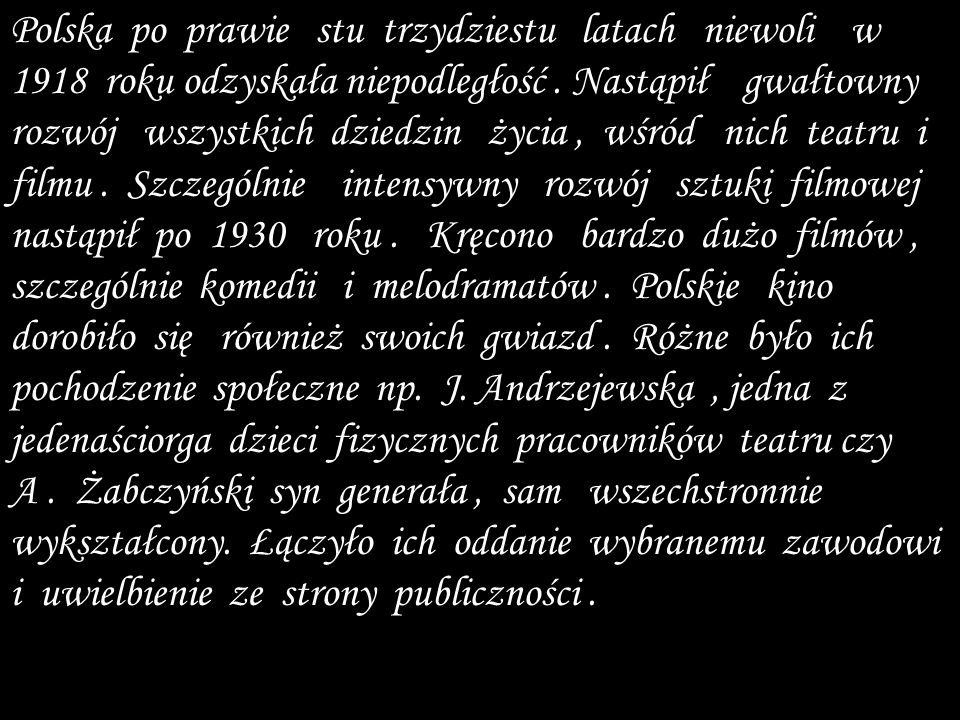 Polska po prawie stu trzydziestu latach niewoli w 1918 roku odzyskała niepodległość.