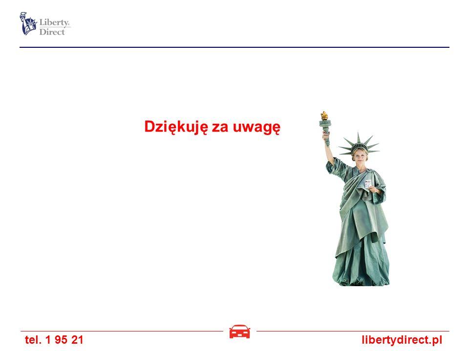 tel. 1 95 21libertydirect.pl Dziękuję za uwagę