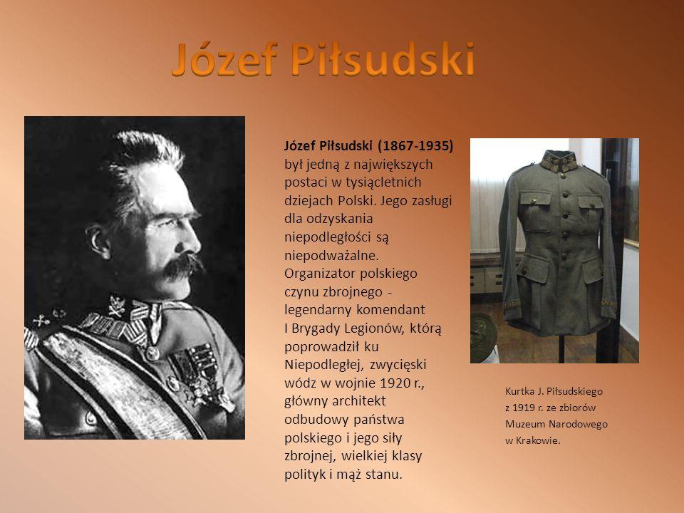 Kurtka J.Piłsudskiego z 1919 r. ze zbiorów Muzeum Narodowego w Krakowie.