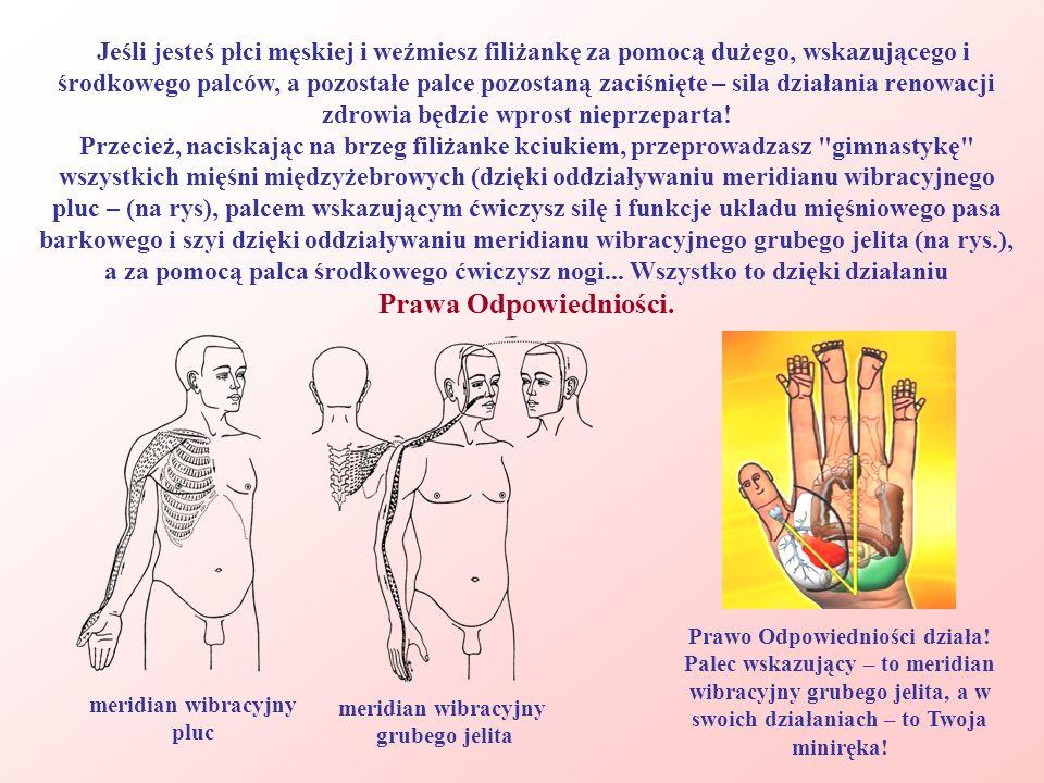 Jeśli jesteś płci męskiej i weźmiesz filiżankę za pomocą dużego, wskazującego i środkowego palców, a pozostałe palce pozostaną zaciśnięte – sila dział