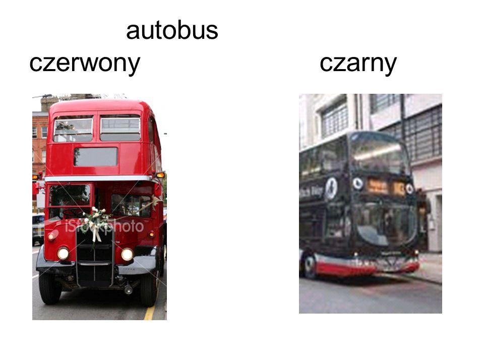autobus czerwonyczarny